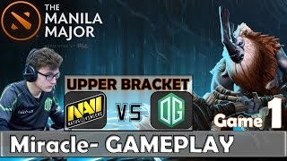 getlinkyoutube.com-Miracle- (Magnus) vs DENDI (Tinker) MID Gameplay | Na'Vi vs OG Game 1 | Dota 2 Manila Major 2016