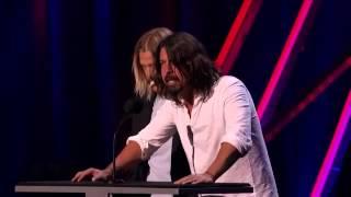 getlinkyoutube.com-rock and roll hall of fame 2013 Rush´s induction