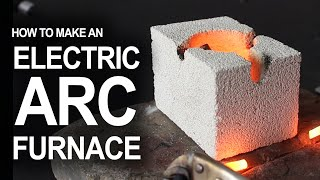 getlinkyoutube.com-How To Make An Electrical Arc Furnace