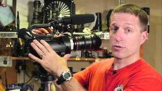 getlinkyoutube.com-Review: JVC GY-LS300 4K Interchangeable-Lens Camcorder