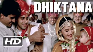 getlinkyoutube.com-Dhiktana 3 - Superhit Blockbuster Song - Salman Khan, Madhuri Dixit - Hum Aapke Hain Koun