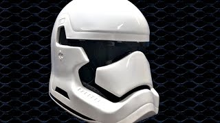 getlinkyoutube.com-making the Star wars episode 7; the force awakens stormtrooper helmet (metal)