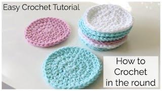 getlinkyoutube.com-How to Crochet a Round Face Scrubbie