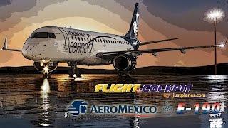 getlinkyoutube.com-AeroMexico Embraer 190