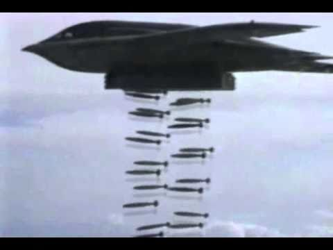 USAF B-2 Stealth Bomber In Action!!!
