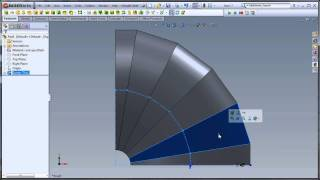 getlinkyoutube.com-Two flat pattern solutions to one problem in SolidWorks CAD