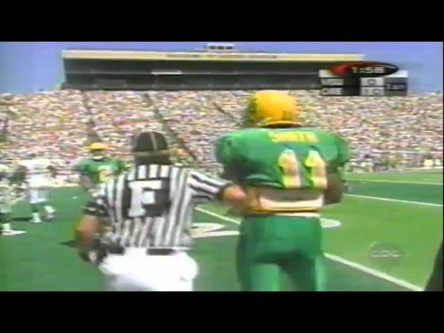 Oregon QB Akili Smith 15 yard run vs. Michigan State 9-08-1998