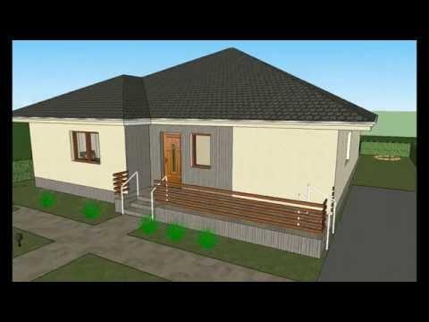 MODEL C-1 by ALIQUANTUM DOO,  kuce, projekty, house plans, house designs