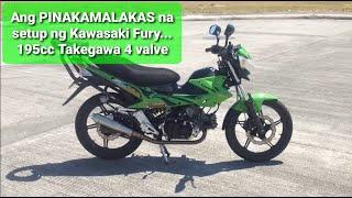 getlinkyoutube.com-Kawasaki Fury R Full Upgrade Takegawa 4valve 195cc Stroker Underbone
