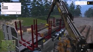 getlinkyoutube.com-Farming Simulator Multiplayer 2015#Logging#Forest Map