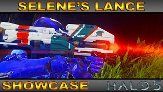 Selene's Lance - Legendary Weapon Showcase - Halo 5 Guardians