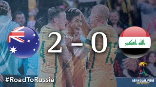getlinkyoutube.com-Australia vs Iraq (Asian Qualifiers - Road to Russia)