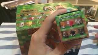 getlinkyoutube.com-เปิดกล่อง Minecraft Mini Figure 2 กล่อง