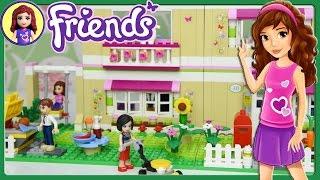 getlinkyoutube.com-Lego Friends Olivia's House Set Building Review Play - Kids Toys