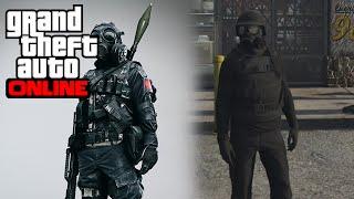 GTA Online: Como se vestir igual SWAT MASCARADO ( Mascara de Gás ) NAO FUNCIONA MAIS