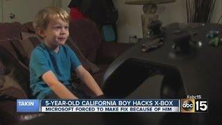 getlinkyoutube.com-5-year-old boy hacks Xbox