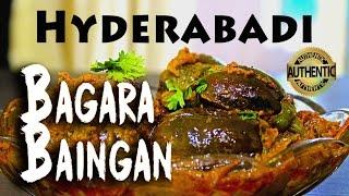 Bagara Baingan | How to make Authentic Hyderabadi Bagara Baingan | Maira Kitchen