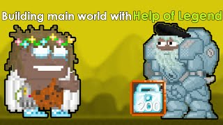 getlinkyoutube.com-Growtopia- Building Main world/Storage with Help of Legend!