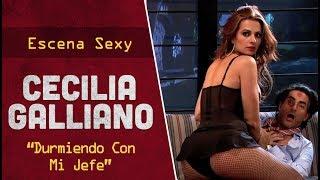 """getlinkyoutube.com-Cecilia Galliano en """"Durmiendo Con Mi Jefe""""   Escena Sexy   Taco de Ojo"""