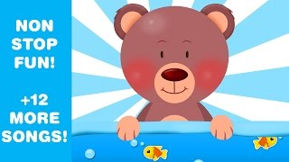 getlinkyoutube.com-The Teddy Bears Picnic | Lots of Kids Songs | + MANY MORE! from KidsSongsClub