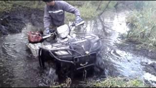 getlinkyoutube.com-Suzuki Kingquad 750  Błotko 2