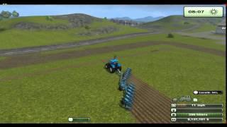 getlinkyoutube.com-Farming Simulator 2013 GPS Mod Ploughing