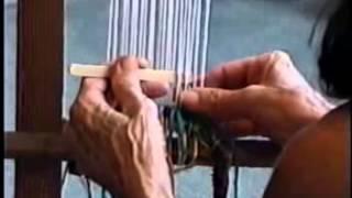 getlinkyoutube.com-How To Construct a Loom and Start Weaving