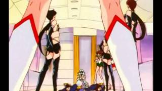 getlinkyoutube.com-[HD] Sailor Moon STARS 188 ENGLISH DUBBED Silver Moon Crystal Power Kiss!