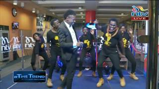 Ekko Dyda performs 'Vidole' on #theTrend