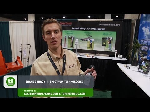On The Green: New England Regional Turf Grass Show 2014 - Spectrum Technologies
