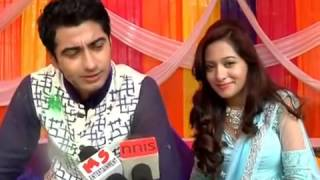 getlinkyoutube.com-Zain Aliya Harshad preetika Interview from the sets of Beintehaa Holi and Aliya shooting with Madhu