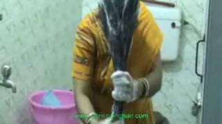 getlinkyoutube.com-Long Hair Washing Ritual