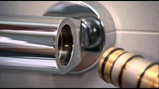 getlinkyoutube.com-Exposed shower valve - Thermostatic cartridge: maintenance, replacement and calibration