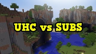 Minecraft Xbox - UHC vs Subscribers FREE FOR ALL
