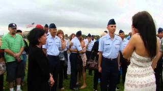 getlinkyoutube.com-Air Force graduation marriage proposal