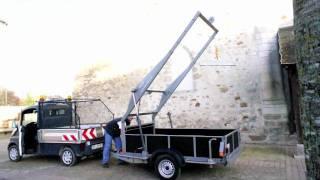 getlinkyoutube.com-BB Trailer - remorque de levage - véhicule électrique mega