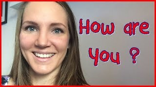 Norwegian Lesson: How are you?