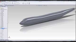 getlinkyoutube.com-Lofts and Airplanes in Solidworks
