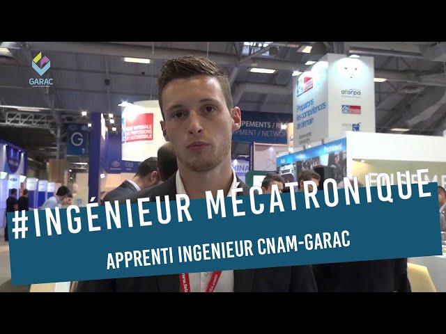 Alexandre JURAIN BTS MV Auto et apprenti ingenieur, label GARAC