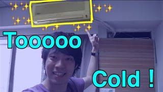 getlinkyoutube.com-你們不會覺得台灣的冷氣太冷嗎?台湾のクーラーは寒すぎる!志甫一成