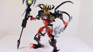 getlinkyoutube.com-Lego Bionicle Combiner: Mask Maker vs Skull Grinder+Skull Scorpio
