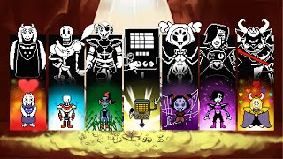 getlinkyoutube.com-Undertale: All Main Boss Battle Themes (Pacifist, Genocide, Final Bosses)