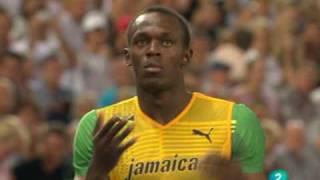 getlinkyoutube.com-Usain Bolt - Récord del Mundo de 200 metros lisos - Berlín 2009