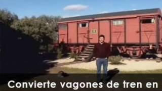 getlinkyoutube.com-Un chalé en un vagón de tren