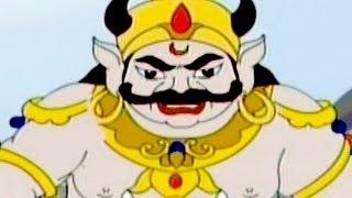 getlinkyoutube.com-Kumbhakarna: The Sleeping Demon - Tamil Animated Story Part 2
