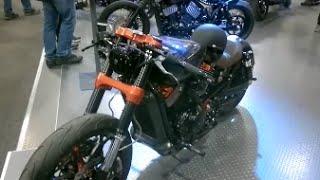 getlinkyoutube.com-Harley-Davidson new models 2016,Harley Breakout 2016,iron 883-custom motorbikes,motorcycle show