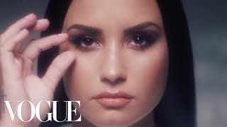 Demi Lovato, Unfiltered: A Pop Star Removes Her Makeup | Vogue width=