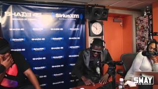 getlinkyoutube.com-Comedian Michael Blackson Makes Sway in the Morning Cry With Laughter