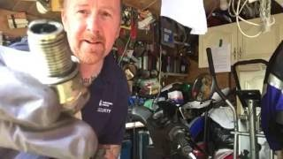 Spark plug problems on your moped or bike mark savage