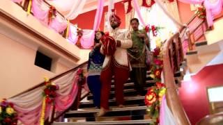 getlinkyoutube.com-Harjeet & jass Punjabi Wedding Highlights